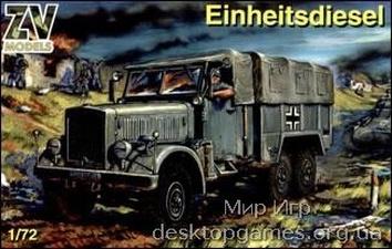 Einheitsdiesel WW2 German truck