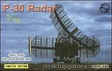 ZZ72008 P-30 Soviet radar vehicle, plastic/resin/pe
