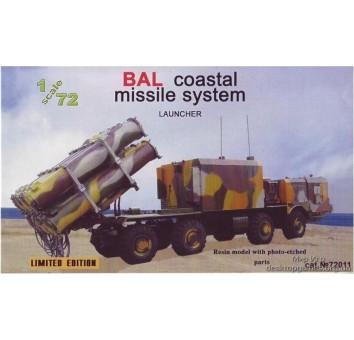 «Бал« береговой ракетный комплекс , пусковая установка