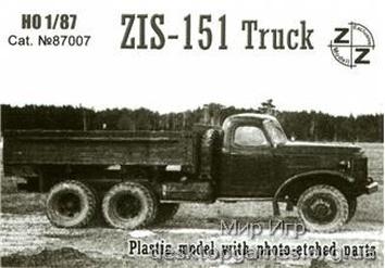 ZZ87007 ZiS-151 truck