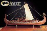 Деревянная модель корабля викингов (NAVE VICHINGA)