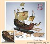 Модель деревянного корабля Санта Мария (SANTA MARIA)