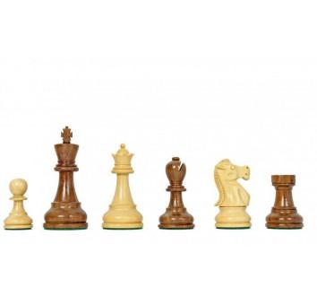 Фигуры с матча Фишер-Спасский (коричневый)