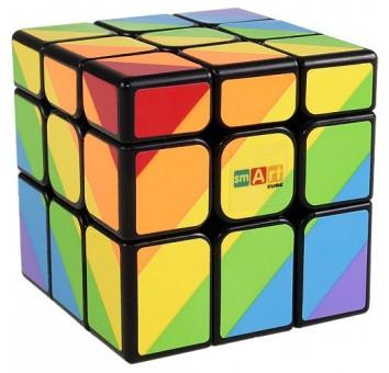 Радужный кубик (Smart Cube Rainbow black)