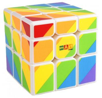 Радужный кубик (Smart Cube Rainbow white)