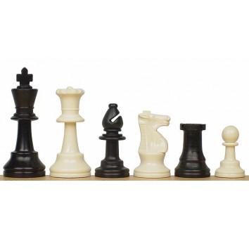 Пластмассовые шахматы (утяжел.)