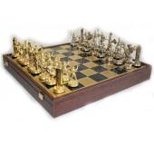 """Шахматы """"Manopoulos"""" Римская Империя, синие 54х54см"""
