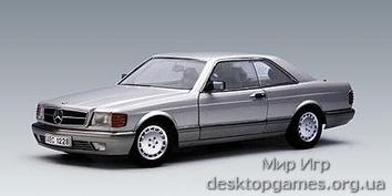 Mercedes 500SEC C126 silver