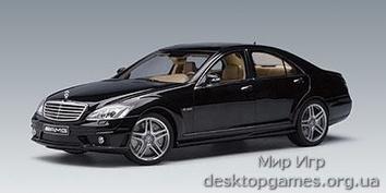 Mercedes-Benz S63 AMG black (кожаные сидения)