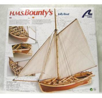 Модель деревянного парусника для склеивания BOUNTY S JOLLY BOAT
