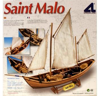 Модель деревянного парусника для склеивания SAINT MALO