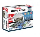 """Объемный пазл """"Гонконг, Китай"""
