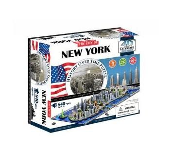 """Объемный пазл """"Нью-Йорк, США"""