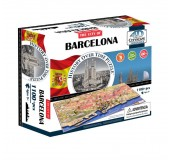 Объемный пазл Барселона, Испания