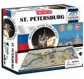 Объемный пазл Петербург, Россия