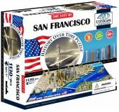 Объемный пазл Сан-Франциско, США