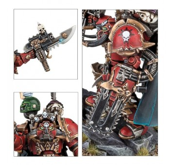 CHAOS SPACE MARINES TERMINATOR LORD'S CADRE - фото 4