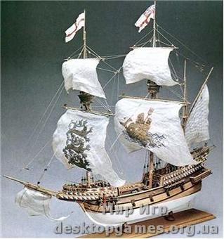 Сборная деревянная модель галеона Элизабетиано (Galeone Elisabettiano)
