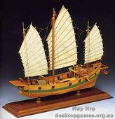 Сборная деревянная модель Китайская джонка (Giunca Cinese)