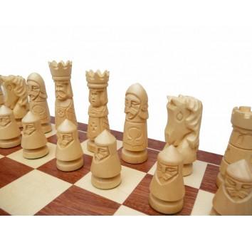 Шахматы Замок Большие Интарсия - фото 3