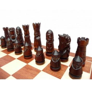 Шахматы Замок Большие Интарсия - фото 4