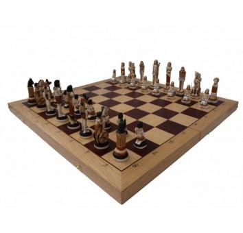 Шахматы Египет интарсия