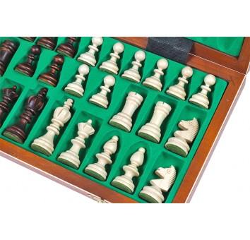 Шахматы Олимпийские интарсия малые - фото 3
