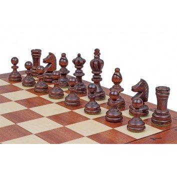 Шахматы Олимпийские интарсия малые - фото 6