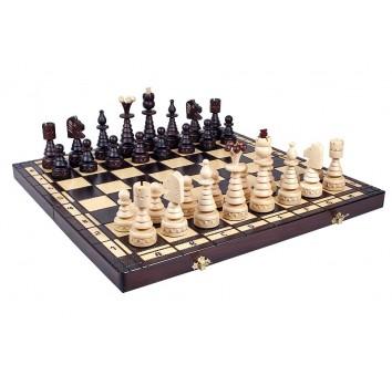 Шахматы CRISTMASS TREE, коричневые