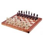 Шахматы INDIAN Intarsia, коричневые