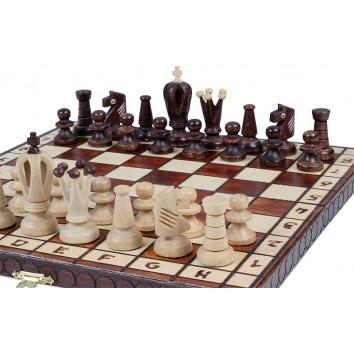 Шахматы Роял 30 коричневые - фото 5