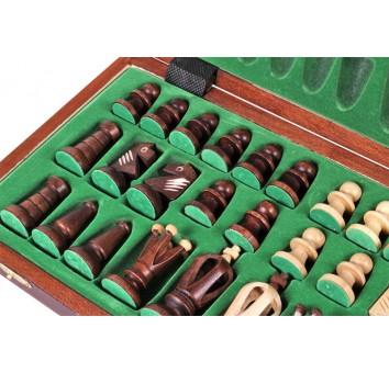 Шахматы Роял 36 коричневые - фото 3