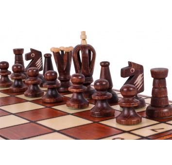 Шахматы Роял 36 коричневые - фото 4