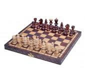 Шахматы PEARL Small с вставкой
