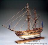 Деревянный корабль Нейв Бомбарда (Nave Bombarda)