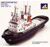 Сборная модель корабля AMSTERDAM (Амстердам). Возможна установка РУ