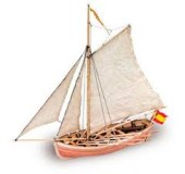 Модель сборного корабля из дерева SAN JUAN NEPOMUCENO S