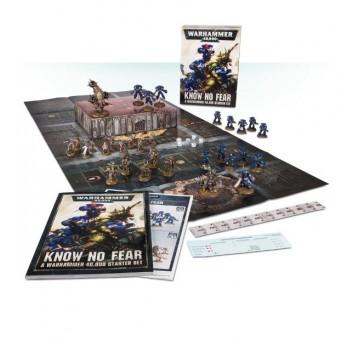 Know No Fear: A Warhammer 40,000 Starter Set (English)
