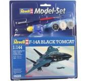 """Model Set Самолет F-14A Tomcat """"Black Bunny"""", 1:144;10+"""