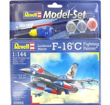 Model Set Самолет F-16C USAF;1:144