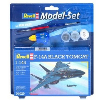 Model Set Самолет (1972г.;США) F-14A Tomcat;1:144
