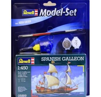 Model Set Испанский галеон (1556г.,Испания) Spanish Galleon;1:450