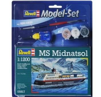 Model Set Круизный лайнер MS Midnatsol;1:1200