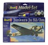Model Set Самолет Junkers Ju52/3m;1:144