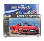 Model Set Автомобиль (2009г.,Германия) Audi R8 Spyder;1:24