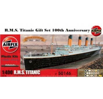 Модель корабля Титаник. Набор с красками и клеем!