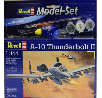 Model Set Штурмовик (1976г.; США) A-10 Thunderbolt II;1:144