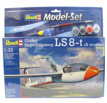 Model Set Самолет (2003г.,Германия) Glider LS-8t; 1:32