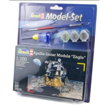 "Model Set Лунный корабль (1963-1969гг.,США) Apollo - модуль Lunar Module ""Eagle""; 1:100"