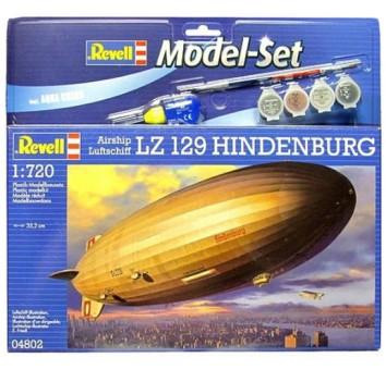 "Model Set Дирижабль (1936г.; Германия) Luftschiff LZ 129 ""Hindenburg"""